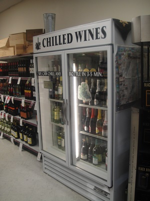 Chilled wines